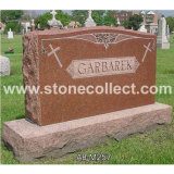 American Style Granite Tombstone (Flat Markers, Dies, Bases, Slants Style)