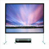 Mattte White/Glass Fiber Fast Fold Screen/out Door Projection Screen/Projector Screen