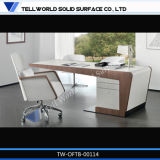 Hot Sale Marble Stone Free Standing Office Desk Computer Table
