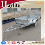 Good Price Single Axle Box Trailer with Cage