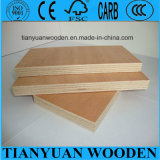 Okoume/Bintangor Faced Poplar Core Commercial Plywood