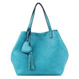 New Arrival Lady Popular Embossed Pattern PU Handbag (C70154-1)