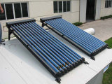 High Quality Low Angle Heat Pipe Solar Collector
