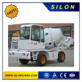 Silon Brand 1.7m3 Self-Loading Concrete Mixer Truck (SL1.7R)