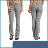 Grey Women Skinny Denim Pants (JC1083)