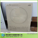 4mm-6mm Clear Ceramic Glass Top for Induction Cooker