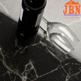 Pure Black Full Body Glazed Polished Porcelain Glossy Tile (JM6611)