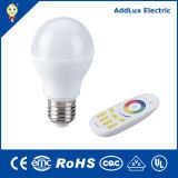 7W SMD E27 Remote LED Bulb Light