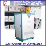 480VDC to 380VAC Three Phase Low Frequency Transformer 60kw Inverter