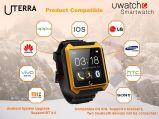 IP68 Waterproof Bluetooth 4.0 Smart Wrist Watch Pedometer Sleep Monitoring