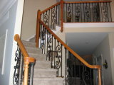 Artistic Iron Stair Balustrade
