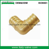 Customized Quality Brass Mpt Adpt Solder Elbow/ Brass Elbow (AV9035)