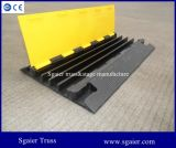 4 Slot Channel Cable Snake Ramp Protector Board with Reflectors