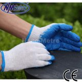 Nmsafety Wholesale Very Low Price Smooth Latex Coated Construction Work Glove