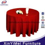 Wholesale White Round Plain Polyester Wedding Table Cloth