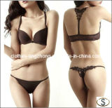New Fashion Sex Ladies Back Design Hot Bra Set Panties Underwear