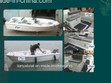 Liya Factory Wholesale 16.8ft Small Fishing Boats New Fiberglass Boats