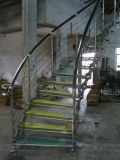 Indoor Integrated Staircase with Engineering Modern Design (SJ-850)