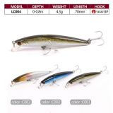 Top Grade Fishing Tackle Minnow Plastic Hard Fishing Lure