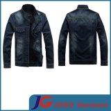 Designer Jeans Men Dark Blue Jean Coat (JC7035)