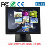 "Professional Bracket Industrial 5 Wire Touch Resistive Panel 15"" Touch Screen Monitor"