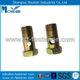Carbon Steel Yellow Zinc Plated Auto Parts