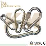 Zinc-Plated Metal Snap Hook