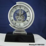 Soloman Table Clock with Skeleton Movement