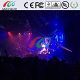 Front Maintenance Indoor Curved LED Screen for Rental