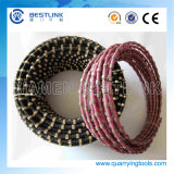 40 Beads 11.5mm Granite Diamond Wire for Saw Cutting