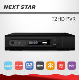MPEG4 1080P FTA PVR DVB-T2 HD PVR with Decoding Ca