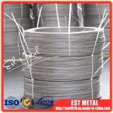 Industrial Gr2 Titanium Wire 5mm Diameter and Pickled Finish