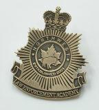 Customized Enamelled Bronze Metal Badge