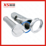 Stainless Steel 304 316L Sanitary Welding 90 Angle Type Strainer