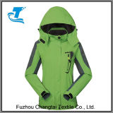 2017 New Design Outdoor Hooded Softshell Mountaineer Travel Jackets
