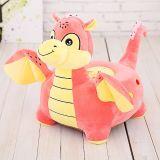 Plush Stuffed Kids Children Dinosaur Dragon Cartoon Tatami Seat Chair