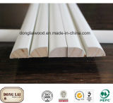 Flexible Chinese Fir Skirting Board for Flooring Accessories