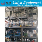 Internal Mixer Compunding Machine with Weighing Mixing Conveying System