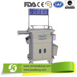 China Products Detachable ABS Medical Instruments Nursing Trolley