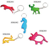 Multi Functional Shaped Beer Bottle Opener with Key Chains Hsk001-005