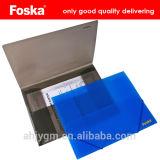 Good Quality A4 Transparent Color PP Buckled File Pocket