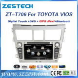 2 DIN Auto Radio DVD for Toyota Yaris Vios GPS Navigation System
