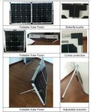 High Quality 18V 60W Foldable Solar Panel for House Roof