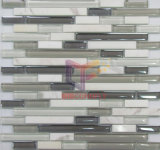 Rainbow Irregular Size Marble Mix Crystal Mosaic Tile (CFS546)
