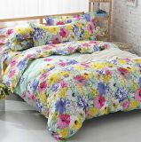 Printed Bedding Set Single/Queen/King 100 Cotton/Polyester Sheet Set