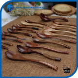Eco-Friendly Wooden Soup Coffee Tea Spoon
