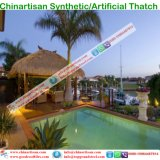 Synthetic Thatch Roofing Building Materials for Hawaii Bali Maldives Resorts Hotel 26