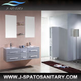 Modern Double Basin MDF Bathroom Furniture (JS-C020)