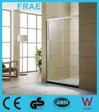 One Fix One Sliding Tempered Glass Shower Door Screen Bathroom Glass Shower Room Furniture Glass Door Panel