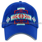 Fashion Washed Embroidery Sandwich Twill Golf Baseball Cap (TMB9068)